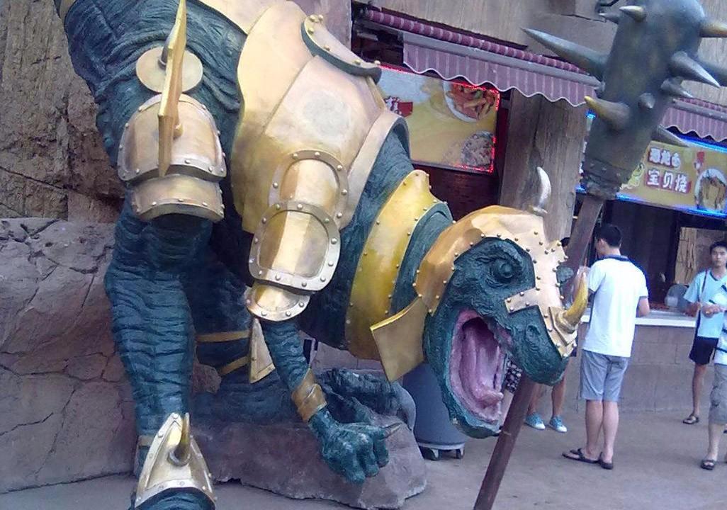 恐龙主题环艺展示